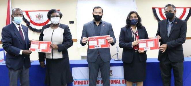 The Ministry of Public Utilities in collaboration with TTPost and the Ministry of National Security launched the Government's Passport Project on Tuesday 22nd September 2020