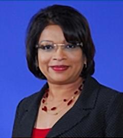 The Deputy Permanent Secretary, Ms. Beverly Khan